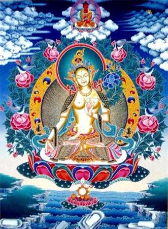 Image result for buddhist devi