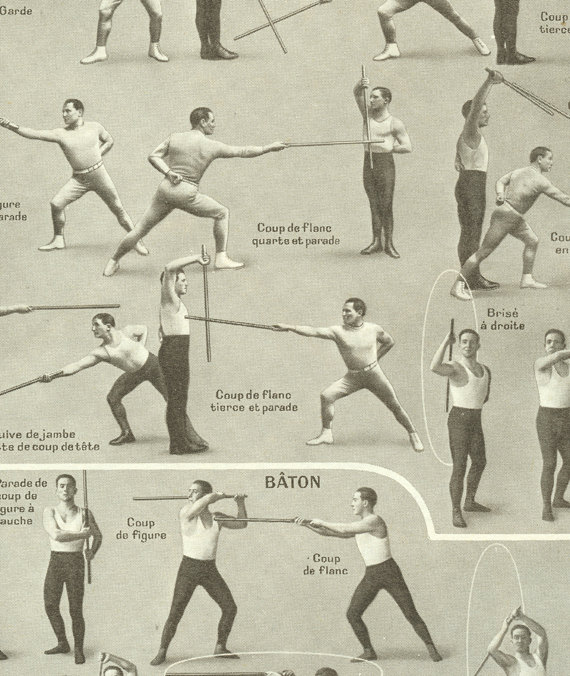 Cane Exercises and Self-Defense: Guides, Bibliography, Resources