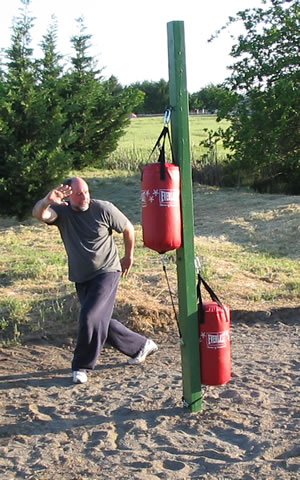 Mike Garofalo, Bagua Circle Training Area