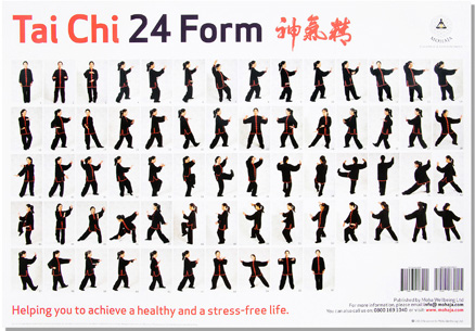 Simplified Standard 24 Movement T'ai Chi Ch'uan Form (Yang 24 ...