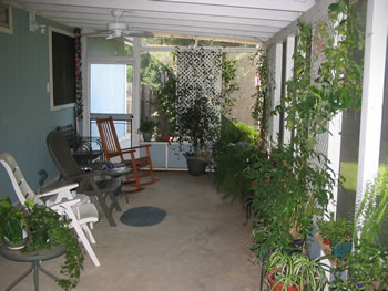 Our Back Porch - July 2006
