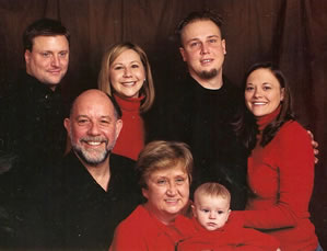 Garofalo and Flinn Family in 2006.